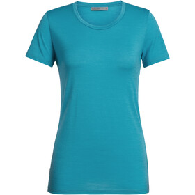 Icebreaker Tech Lite SS Low Crewe Top Women arctic teal